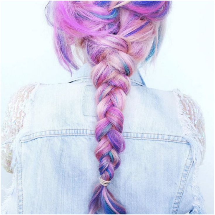 38 Stunning Summer Hair Color Trends Only For The Boldest