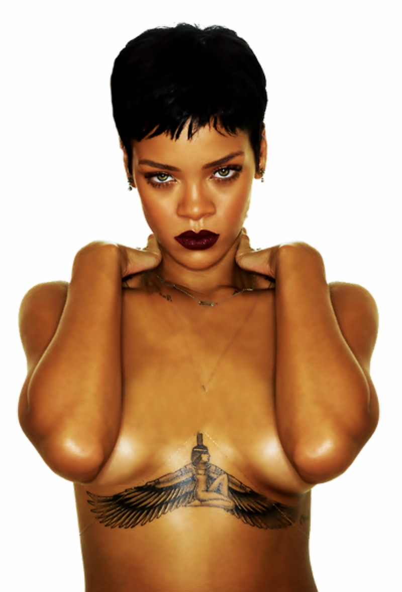Discover TheSecrets Behind 18 Of Rihanna's Tattoos