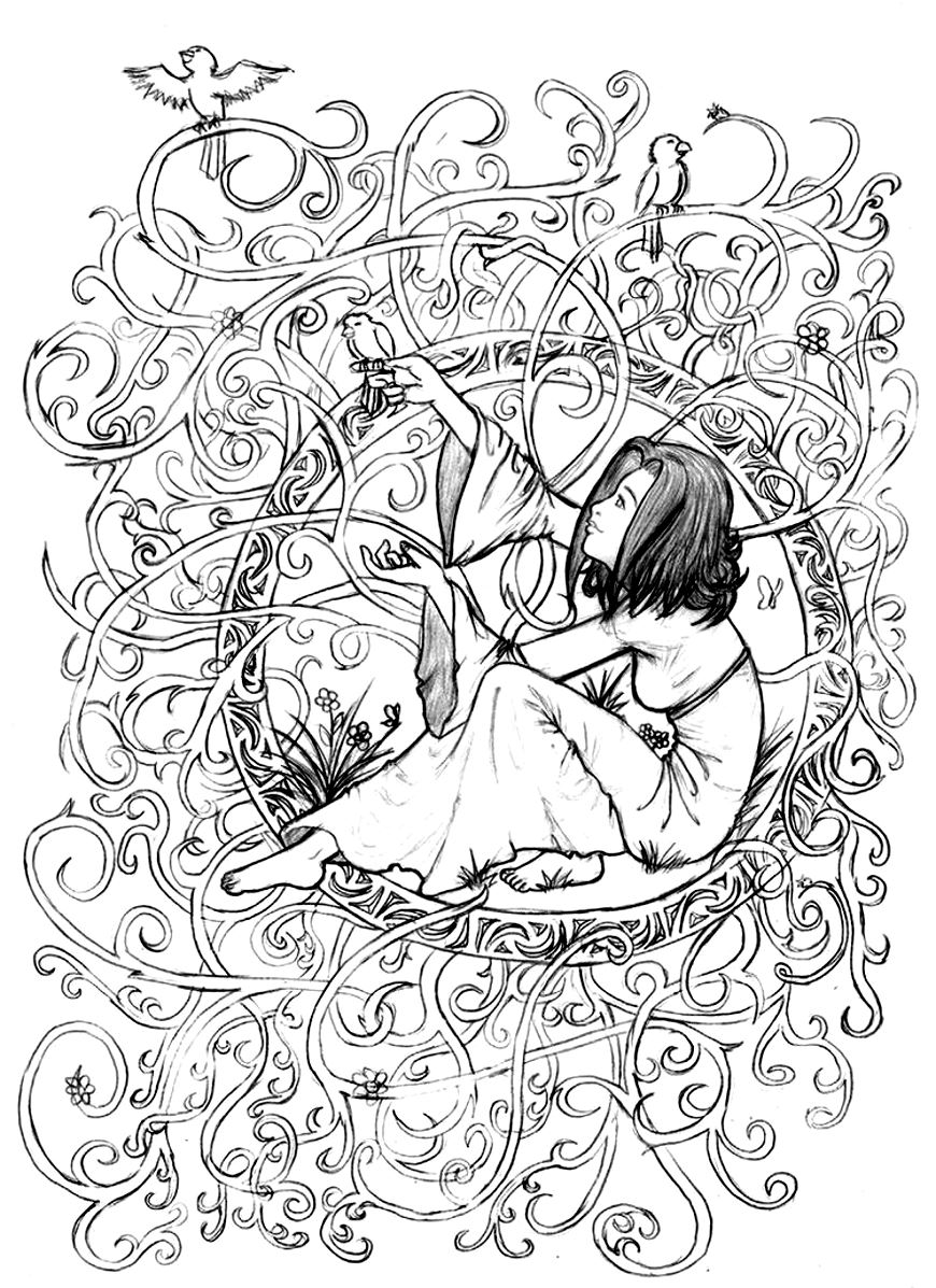 Grown up color pages - 39 Free Coloring Pages Grown Ups Can Enjoy