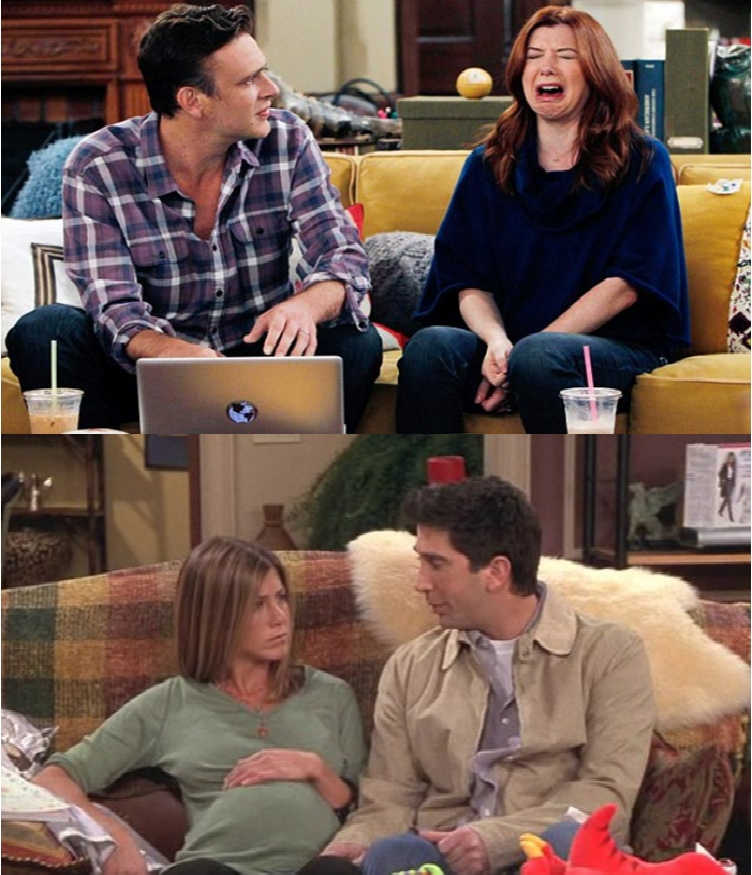 Friends Or How I Met Your Mother Yahoo : Surprising similarities between friends and how i met