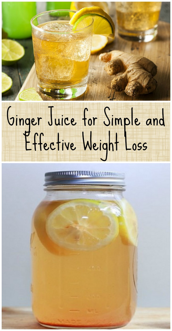 how to make ginger juice for weight loss