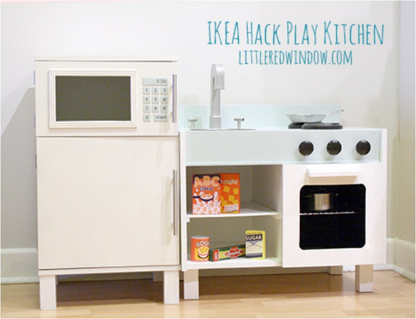 37 ikea hacks that will transform your home ritely - Ikea kitchenette frigo ...