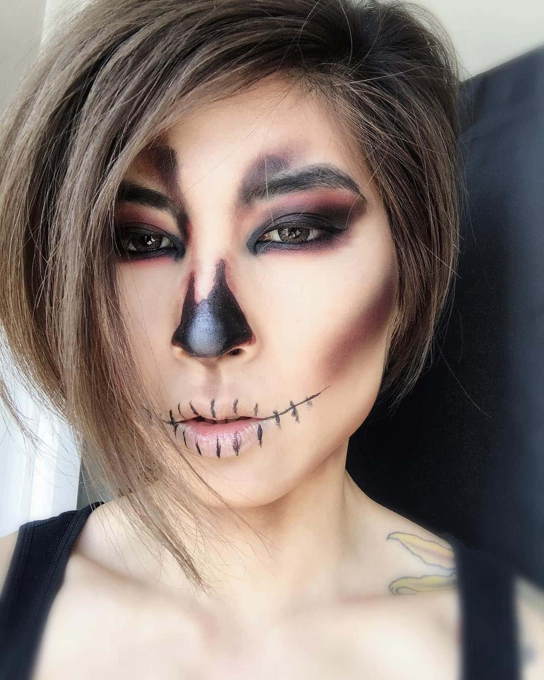 halloween makeup ideas 27 and spooky makeup ideas ritely 12907